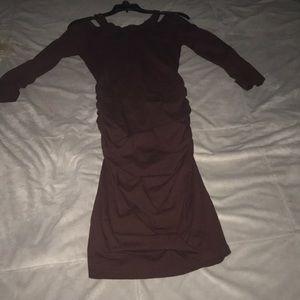 Michael Stars Dress. Deep Auburn. Sexy. Xs